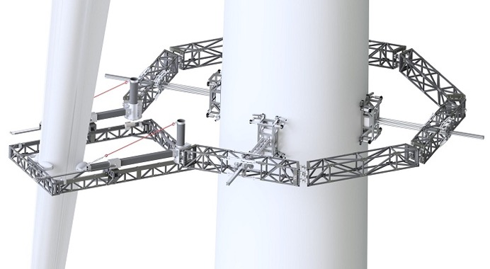 RADBLAD technology to carry out full X-ray survey of wind turbines.